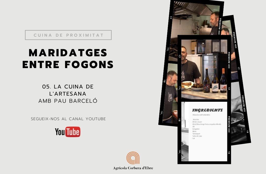 IMG post - Maridatges entre fogons, la cuina de l'Artesana