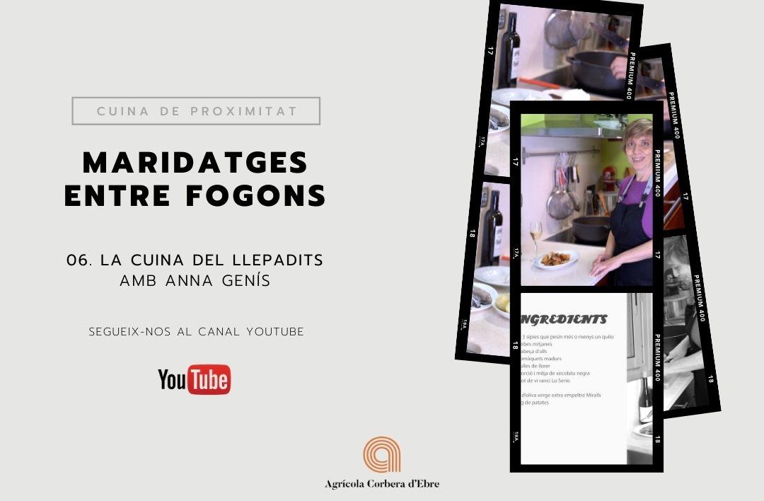 IMG post - Maridatges entre fogons, la cuina del Llepadits amb l'Anna Genís